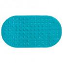 68x37cm kąpiel z pcv, turkusowy, niebieski
