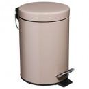 Großhandel Haushaltswaren: Trash Metal 3l Taupe, Taupe