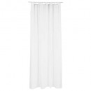 cortina de baño blanco poliéster , blanco