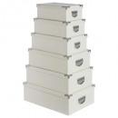 esquinas caja cocodrilo marfil mtlx6, blanco