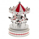 musical carousel decoration pm tradi, 2-time asso