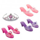 princess shoes x3 + tiara
