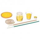 presentoir 116 pcs citronnelle, jaune