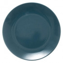 plate hollow almond green 22cm, gray