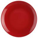 plato rojo postre 21cm, rojo