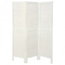 white wood screen 170x40, beige