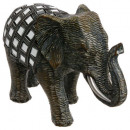 elephant mirror pm, brown