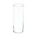 transparent cylinder vase h40, transparent