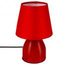 lámpara de cabecera roja h19.5, roja