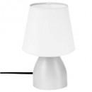 bedside lamp white h19.5, white