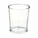 Transparent cylinder tealight h7, transparent