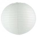 lanterne boule blanc d60, blanc