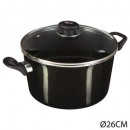 wholesale Pots & Pans: factt 26 steel email tradition, dark gray