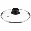 glazen dekseldiameter 20 cm, transparant