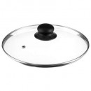 glass lid diam 24cm, transparent