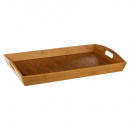wholesale Houshold & Kitchen: bamboo tray 44x29cm, colorless