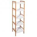 badkamer plank 5 niveaus bamboe / mdf