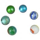 tapas de bolas x6pcs o 25mm