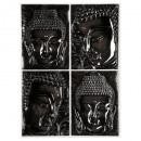 sticker relief 38x50 bouddha, 2-fois assorti, mult