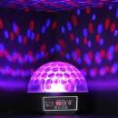 disco light 360 ° kryształowej kuli - led