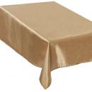 asztalterítő szatén arany 140x240