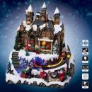 karácsony falu gyár bemutatja a santa claus lm