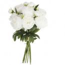 ramo 13 peony blc gm h50, blanco