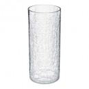 craq cilindro jarrón d13x30, transparente