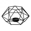 wholesale Wind Lights & Lanterns: photoph wire black metal d15x17xh9, black