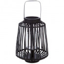 wholesale Wind Lights & Lanterns: lantern rattan black d25xh35, black
