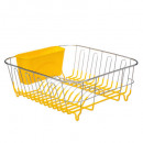 metal drainer + pvc yellow, yellow