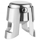 bouchon a champagne inox, argent