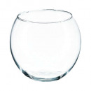 transparent ball vase d15, transparent