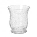 cristal tealight cracker evase h9, transparente