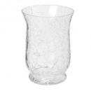 glazen theelichtcracker evase h15, transparant