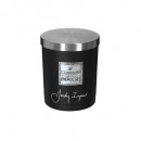 scented candle jar im loyal 210g mm, black