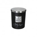scented candle jar im loyd 490g gm, black