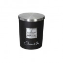 scented candle dou co loyd 490g gm, black