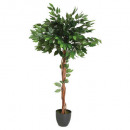 ficus artificial pot h120, green