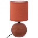groothandel Speelgoed: Ceramic Streak Ball Ter H25, terracotta