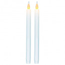 candle btn led d2.1h28 x2, white