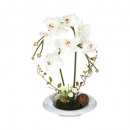 orchidee ceramic vase comp H46, 2- times assorted