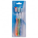 wholesale Dental Care: toothbrush x3, 4- times assorted