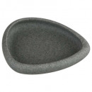 soap dish stone, dark gray