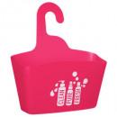 uchwyt prysznicowy z polipropylenu malinowy, różow