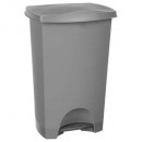 afvalbak 42l grijs, lichtgrijs