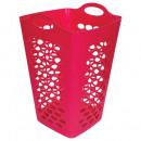Großhandel Wäsche: Wäschekorb 70l pink, pink
