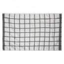 torchon microfibre 40x60 gris, gris
