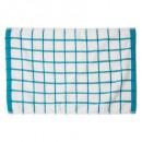 Toalla de microfibra 40x60 azul, azul
