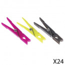 Clothespins x24 mm, multicolored